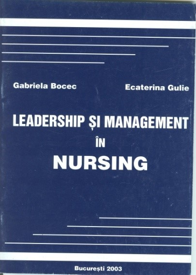 Leadership şi management în nursing, – 2003