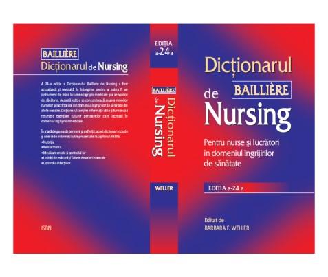 Dicţionar BAILLIERE DE NURSING (2009 – EDIŢIA a 24a)